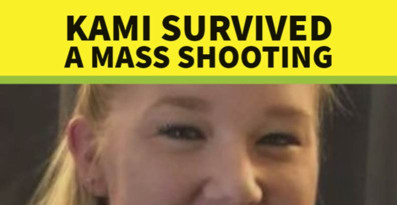 Kami survived a mass shooting
