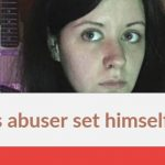 Alyssa's abuser set himself on fire