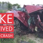 Luke survived a fatal crash
