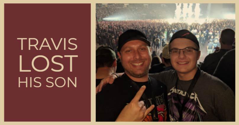 Travis lost his son