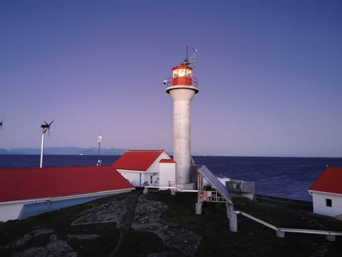 Entrance Island lighthouse