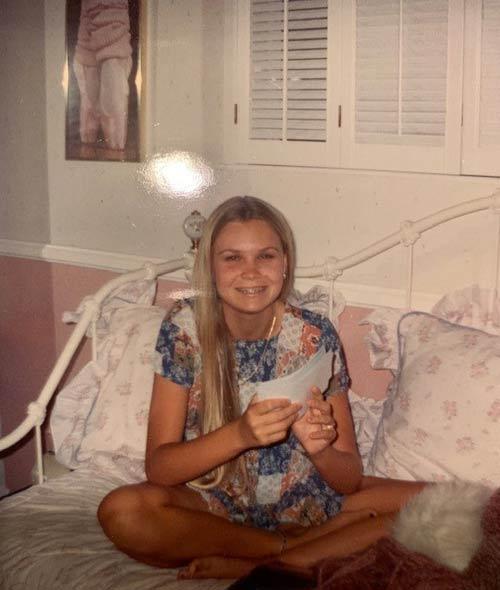 Jami as a teenager