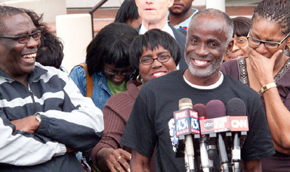 James Bain is released from prison