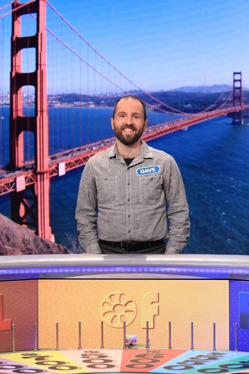 Dave on Wheel of Fortune