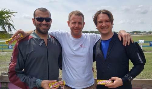 Eric, Duncan and Matt