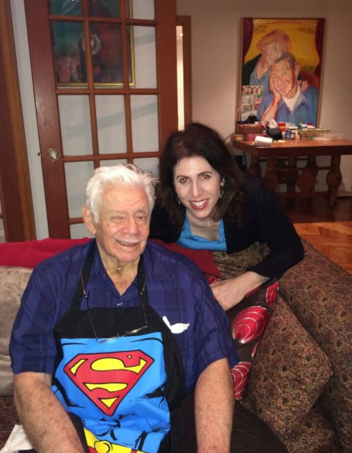 Robin and Jerry Stiller