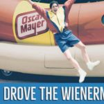 Robin drove the Wienermobile