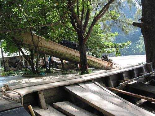 Thailand tsunami devastation