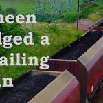 Deneen dodged a derailing train