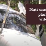 Matt crashed his plane in the wilderness