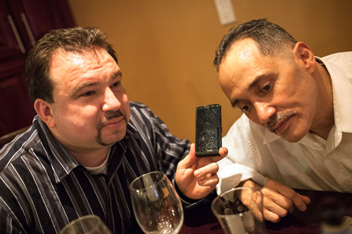 Jeff Deskovic and William Lopez. Lopez was exonerated after more than 22 years in prison for a murder he did not commit.