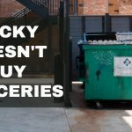 Ricky doesn't buy groceries