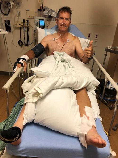 Alex, recovering